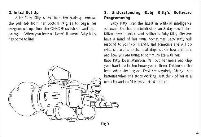 tekno newborn kitty instructions