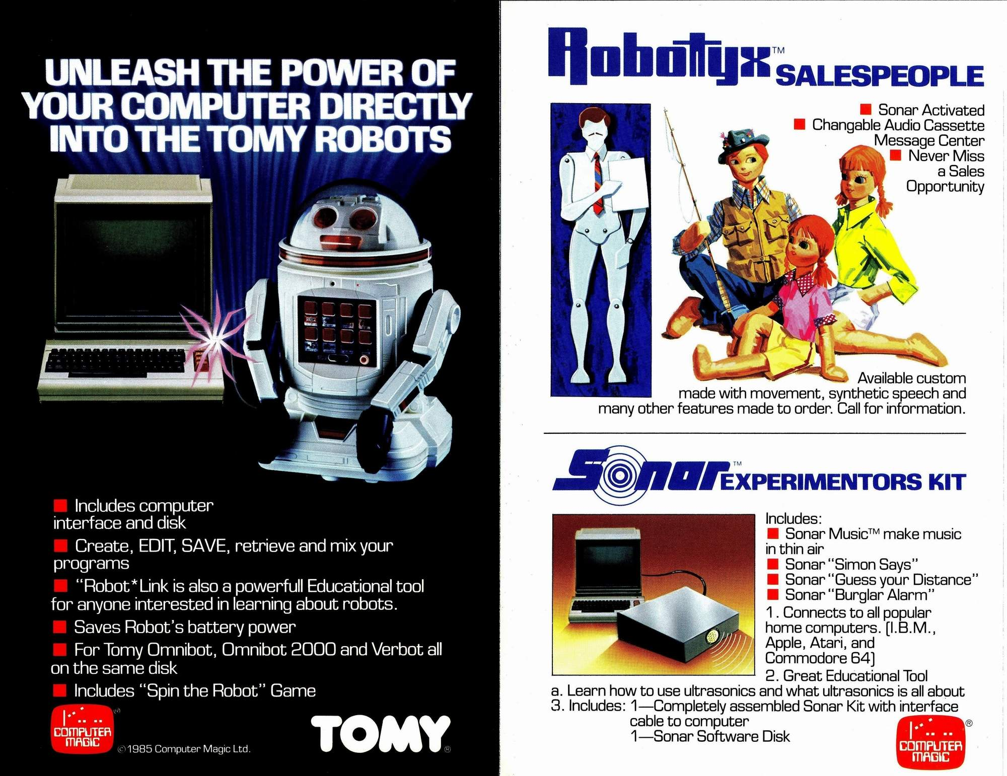 Omnibot Family Advertisement - The Old Robot's Web Site