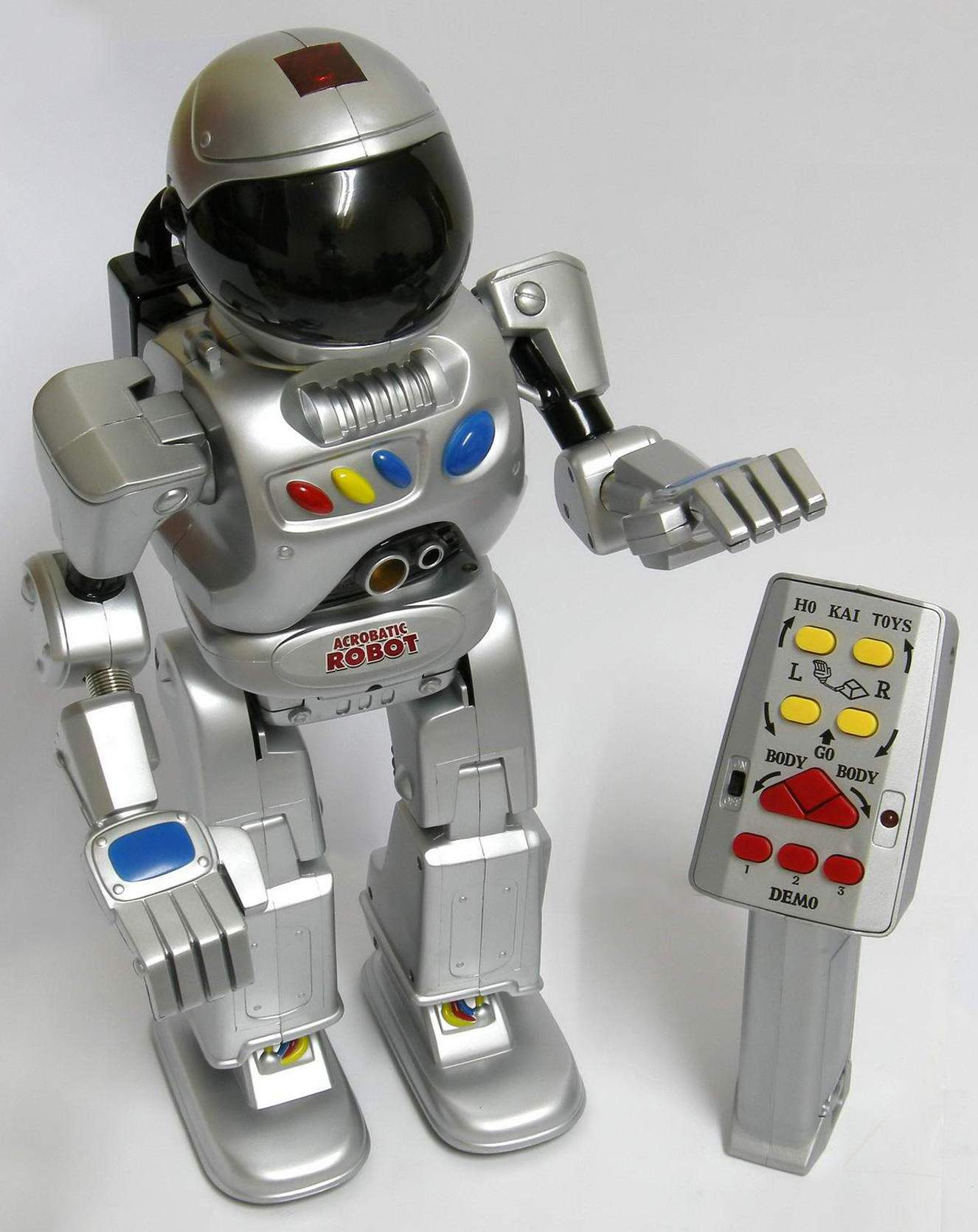 IR Acrobatic Robot HK 588 Ho Kai Toys The Old Robots Web Site