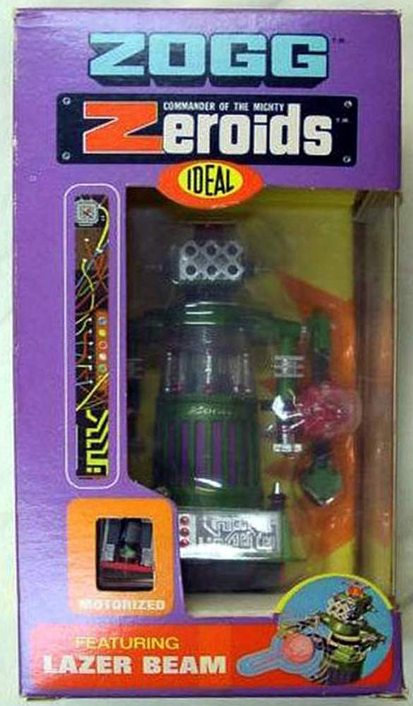 The Zeroids Robots By Ideal The Old Robots Web Site
