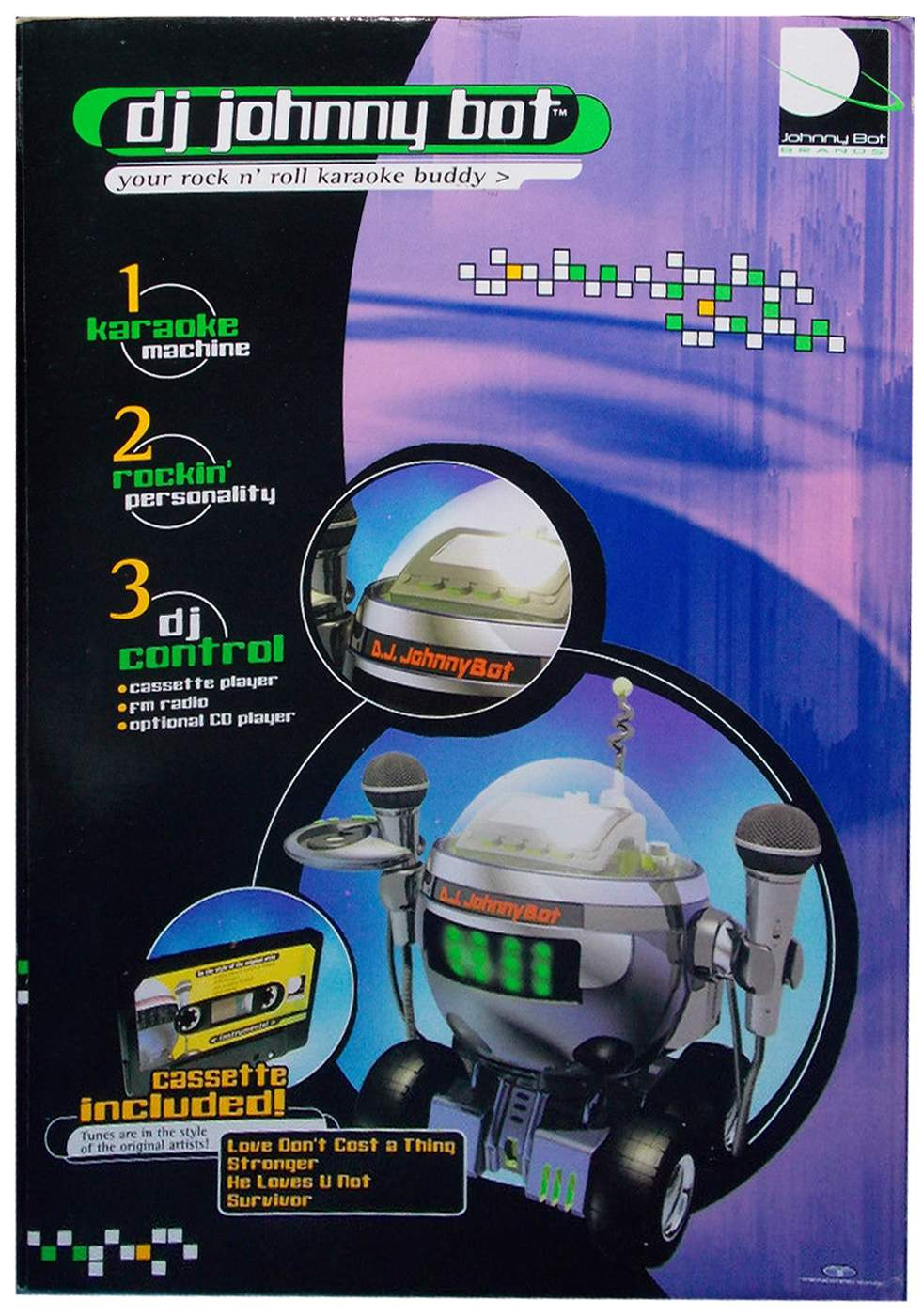 DJ Johnny Bot by Trendmasters - The Old Robots Web Site