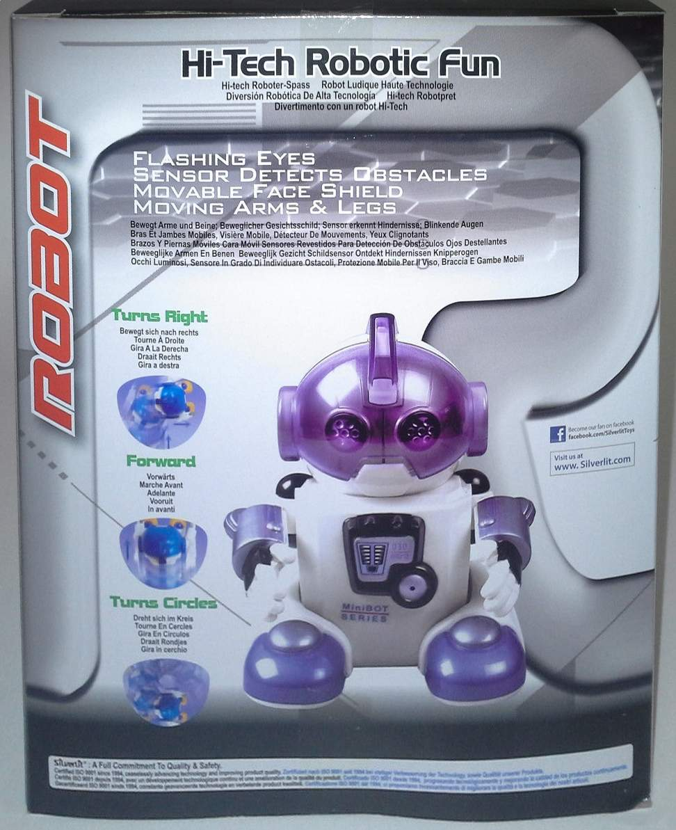 Jabber-Bot Robot by Silverlit - The Old Robots Web Site