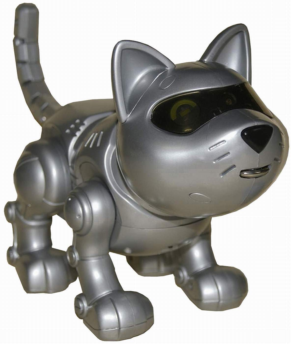 Tekno The Robotic Kitty by Manley Toy Quest - The Old