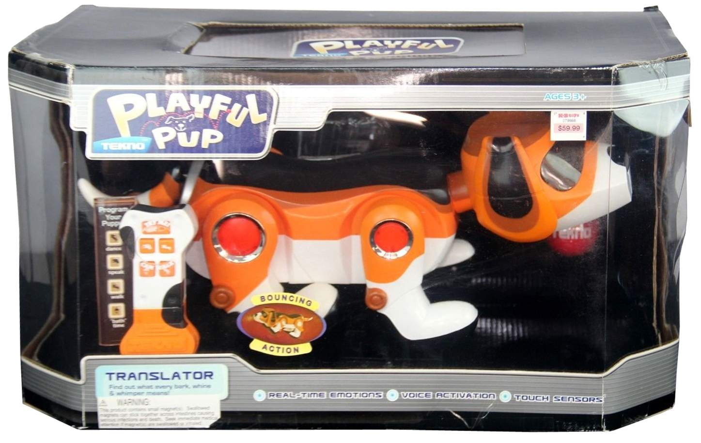 Tekno The Robotic Puppy The Old Robots Web Site