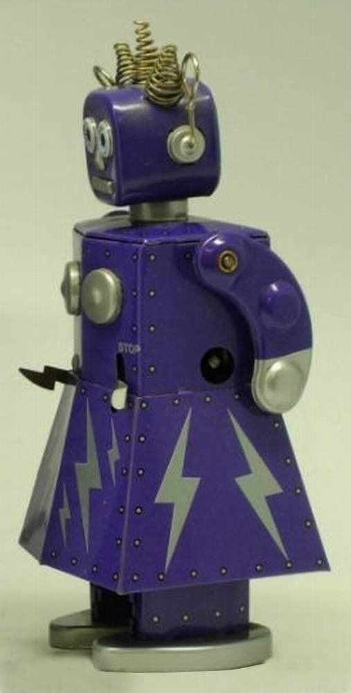 Electra Robot Tin Toy Windup St John Toys The Old Robots Web Site