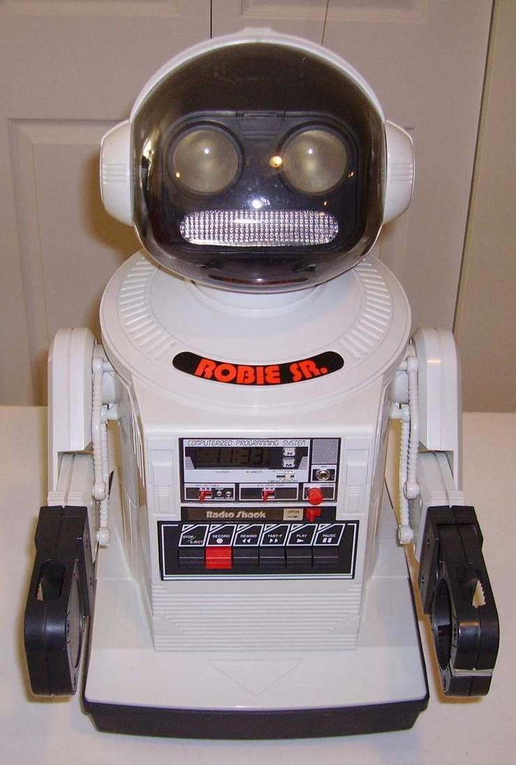 Radio Shack Toys For Boys : S robot radio shack pictures to pin on pinterest daddy