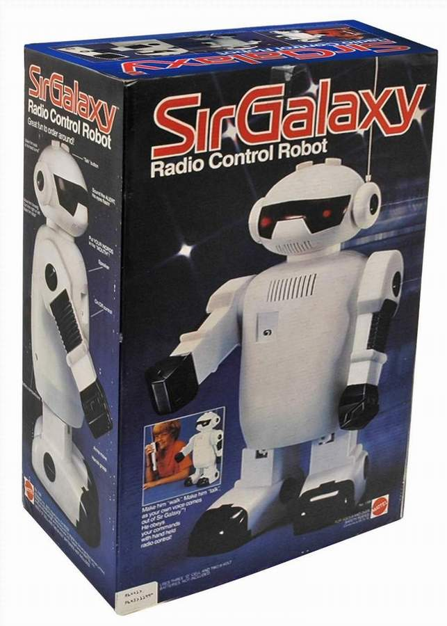 Sir Galaxy Robot