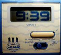 Casio Robot Clock
