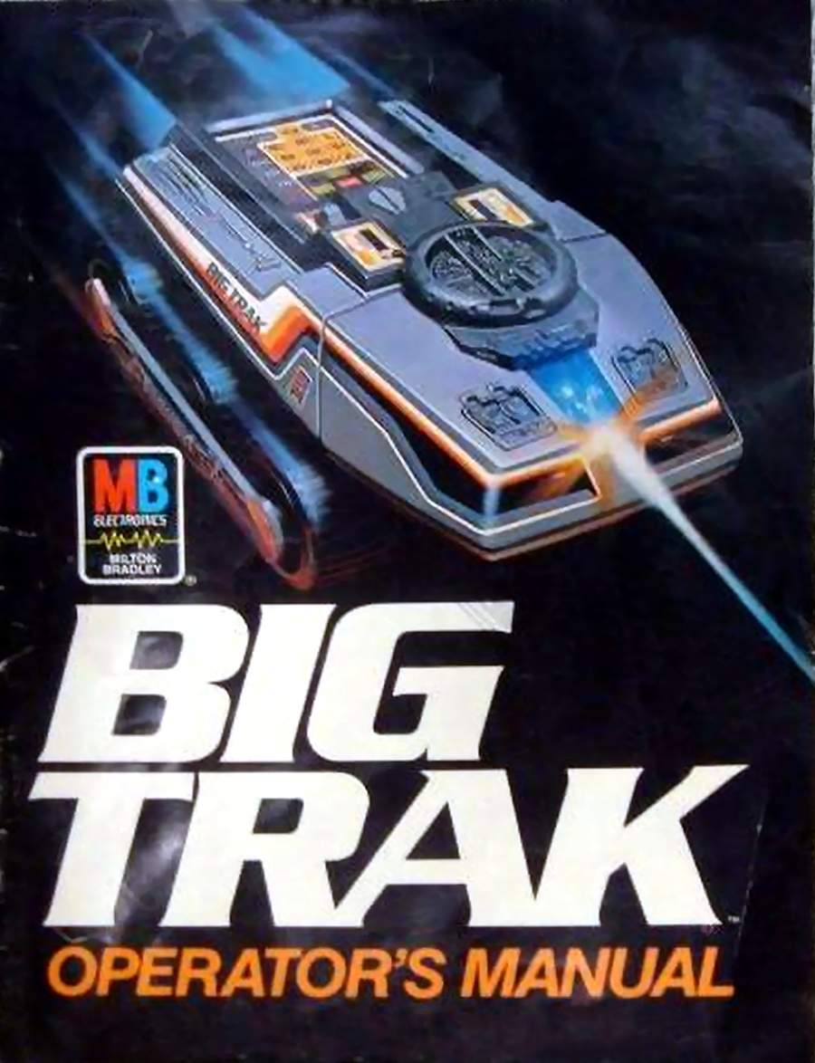80 S Milton Bradley Toys : Big trak by milton bradley the old robots web site