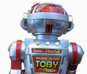 Toby Robot by New Bright