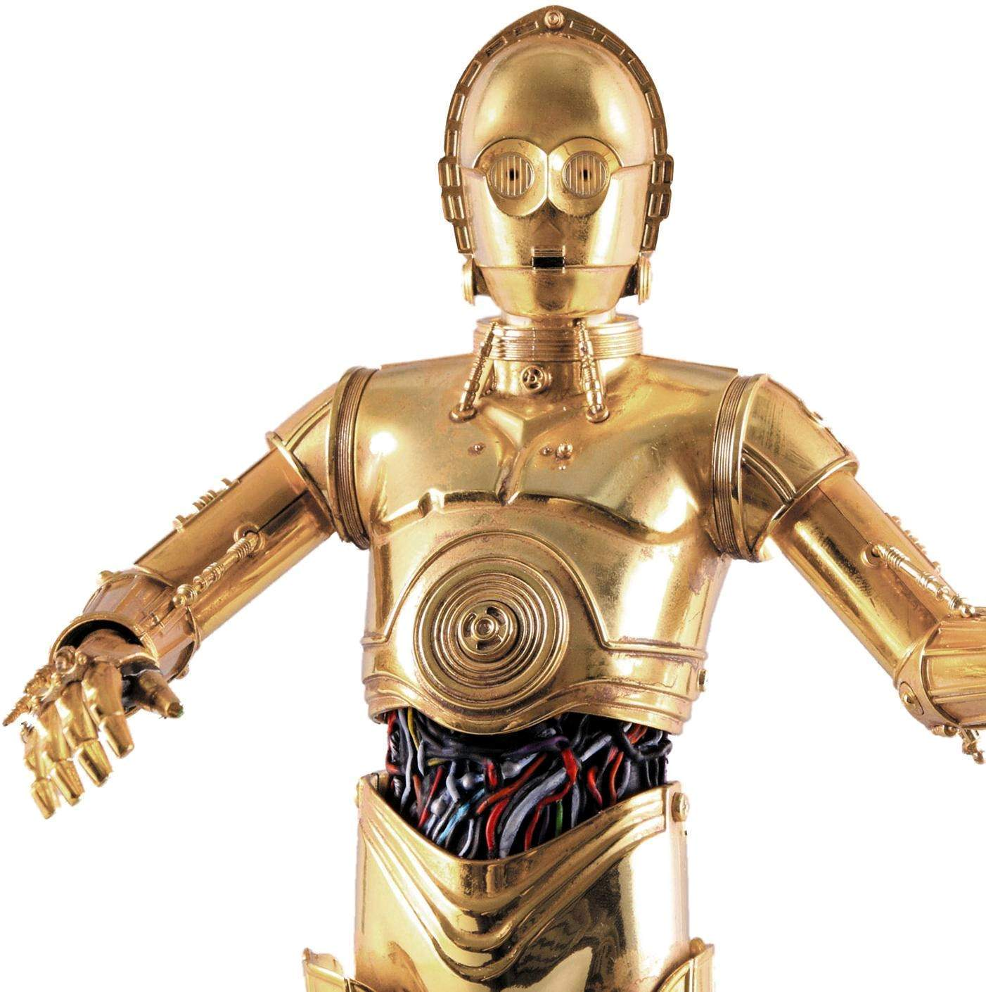 C 3po robot the old robot 39 s web site - Robot blanc star wars ...