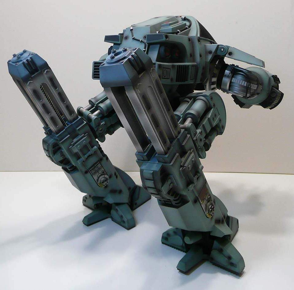 ED 209 Robot - The Old Robot's Web Site