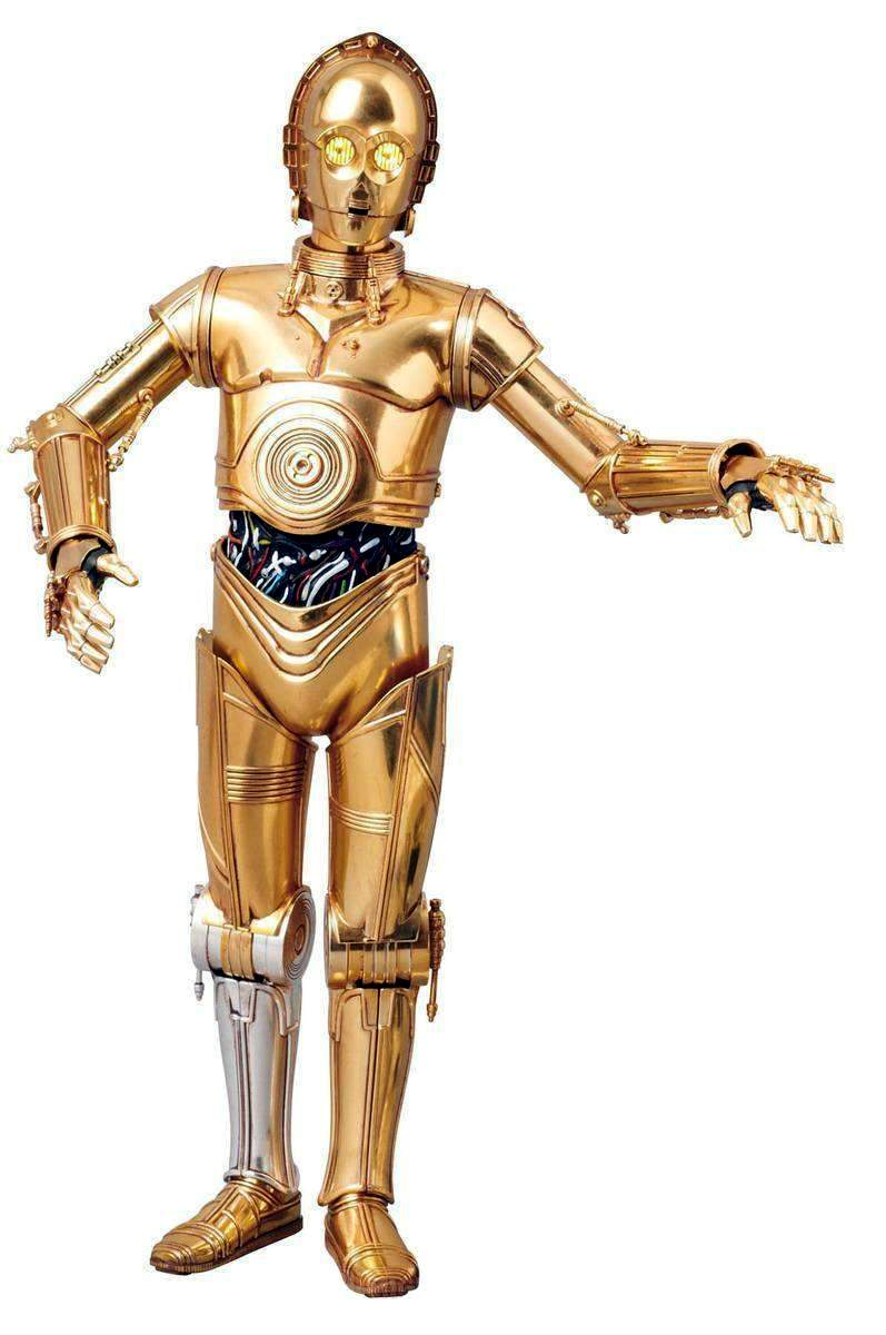 C 3po Robot The Old Robot S Web Site