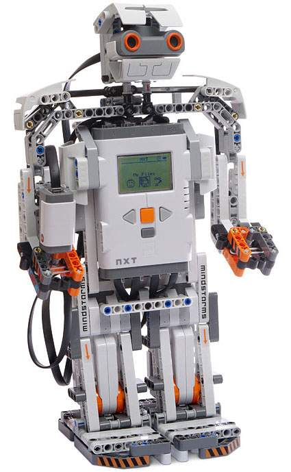 Lego Mindstorms Nxt Small Robots The Old Robots Web Site