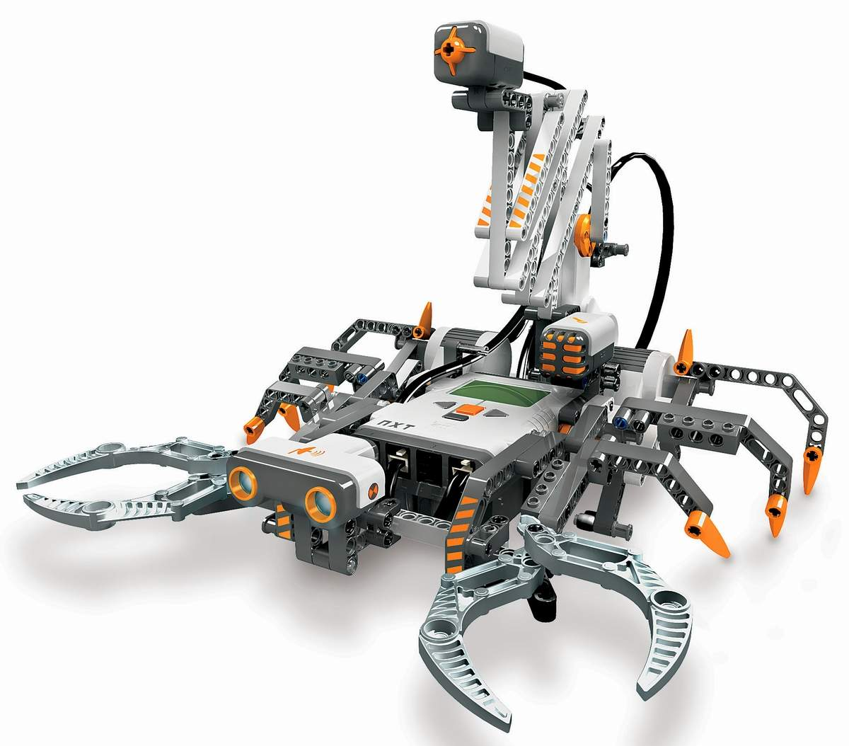 Lego mindstorms nxt small robots the old robot 39 s web site - Piezas lego gigantes ...