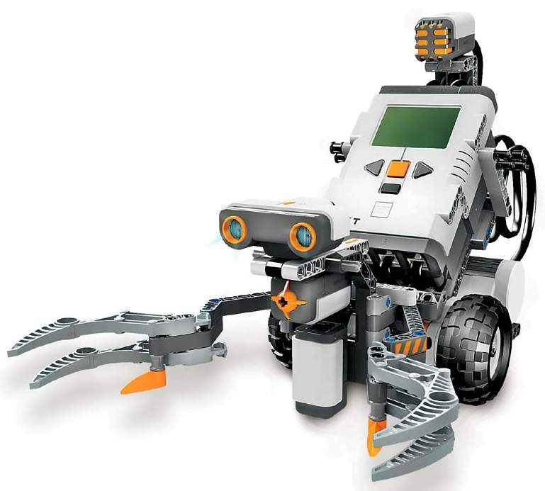 Lego Mindstorms-NXT Small Robots - The Old Robot's Web Site