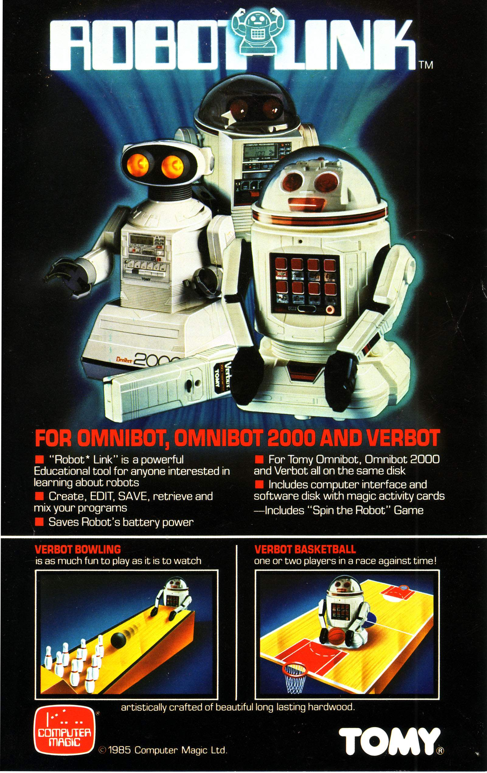 Robo Link by Computer Magic - The Old Robot's Web Site - Book-20