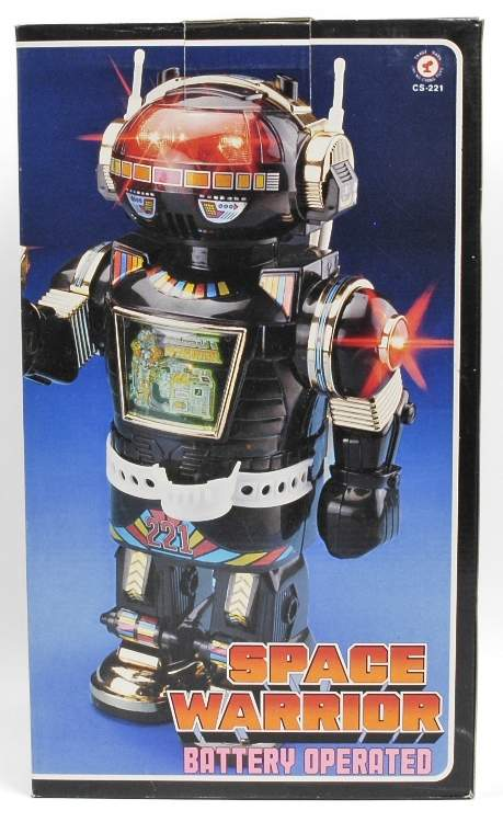 Space Warrior Robot Cheng Ching Toys 1985