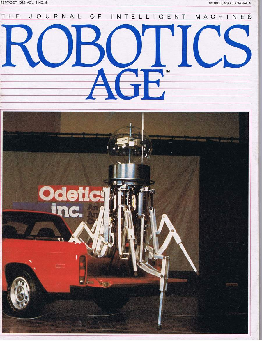 Odex 1 Robot by Odetics Inc