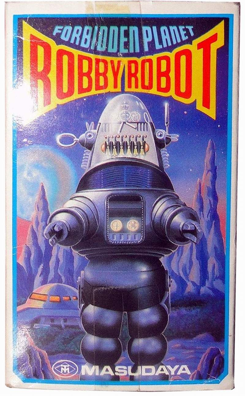 robby the robot the old robots web site