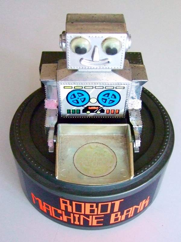 Robot Machine Bank