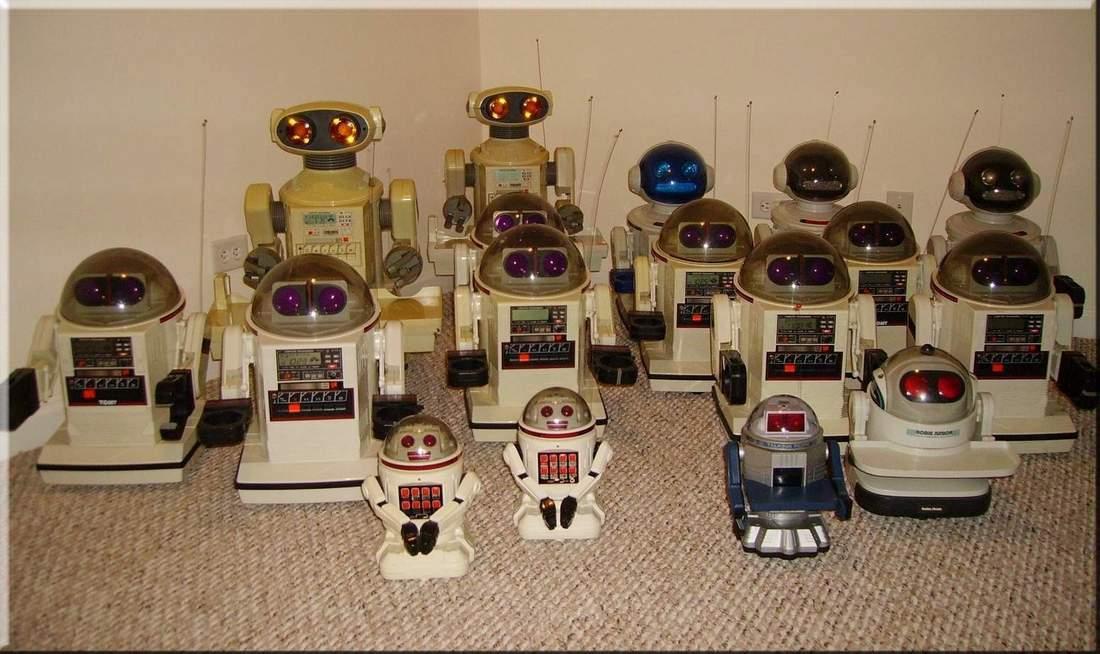 Humanoid robot of 1980