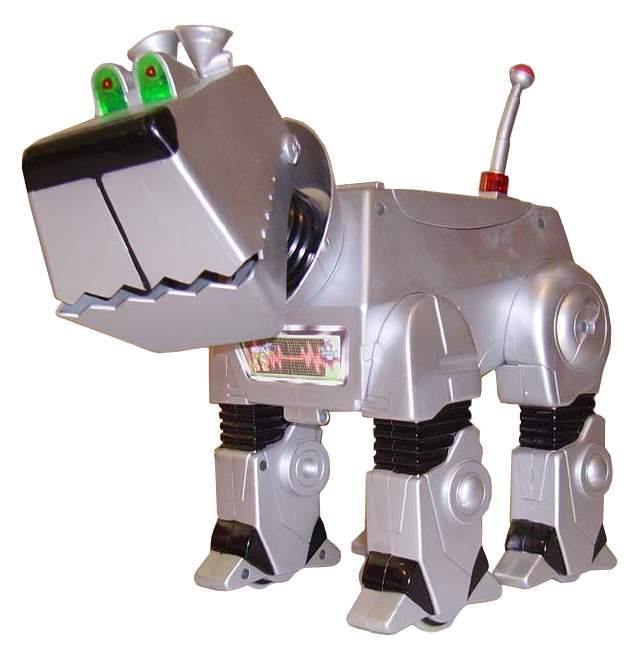 Mega Byte The Hound Droid 600 1206 The Old Robot S Web Site