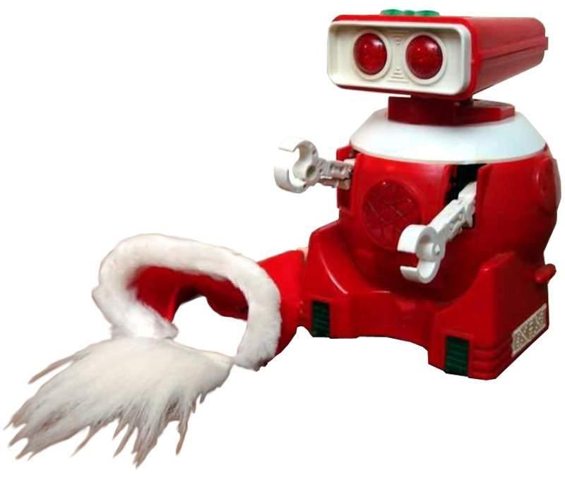 Christmas Santa Musical Robot - The Old Robots Web Site