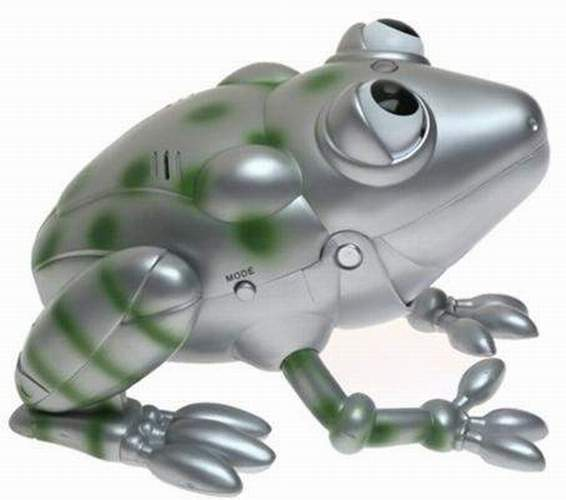 Roscoe The Robotic Frog The Old Robots Web Site