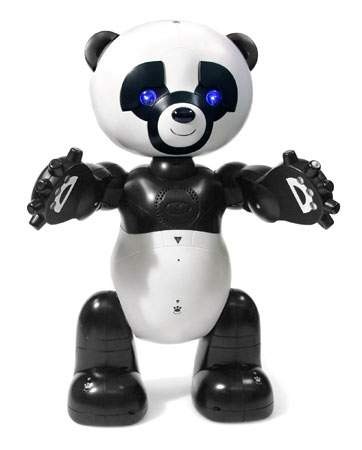 Robo Panda Robot By Wow Wee The Old Robots Web Site