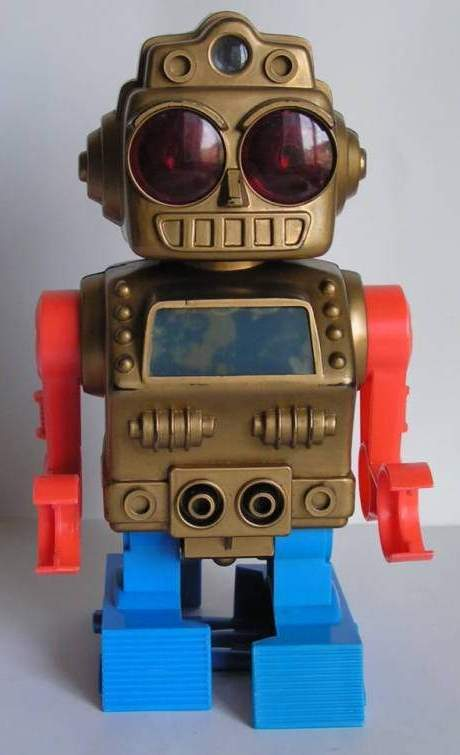 Space Monster Robot - The Old Robots Web Site