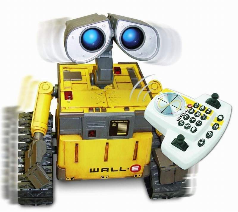 wall e robot by wow wee the old robots web site. Black Bedroom Furniture Sets. Home Design Ideas
