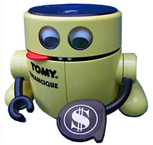 Mr Money Robot Bank