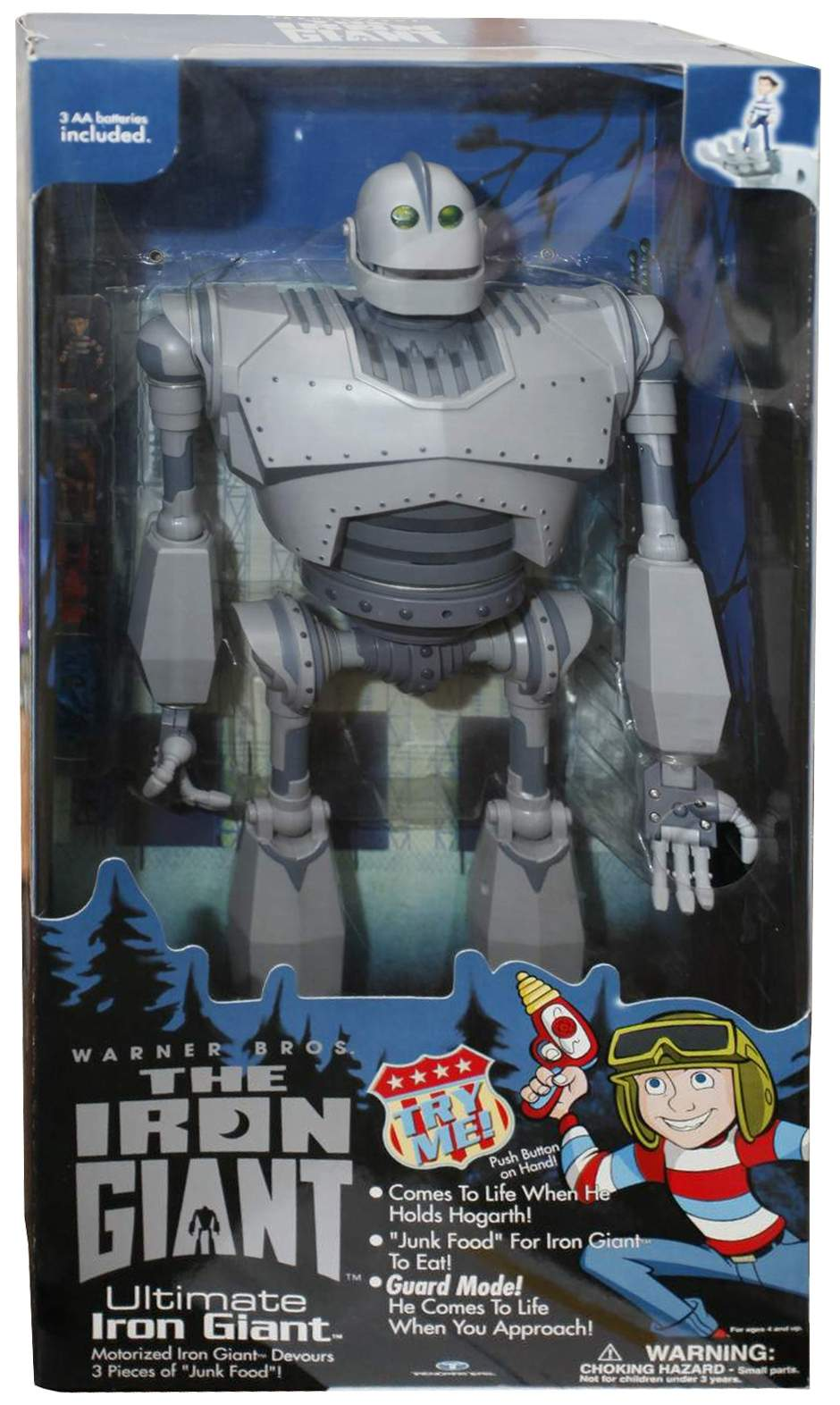 The Iron Giant Robot The Old Robots Web Site