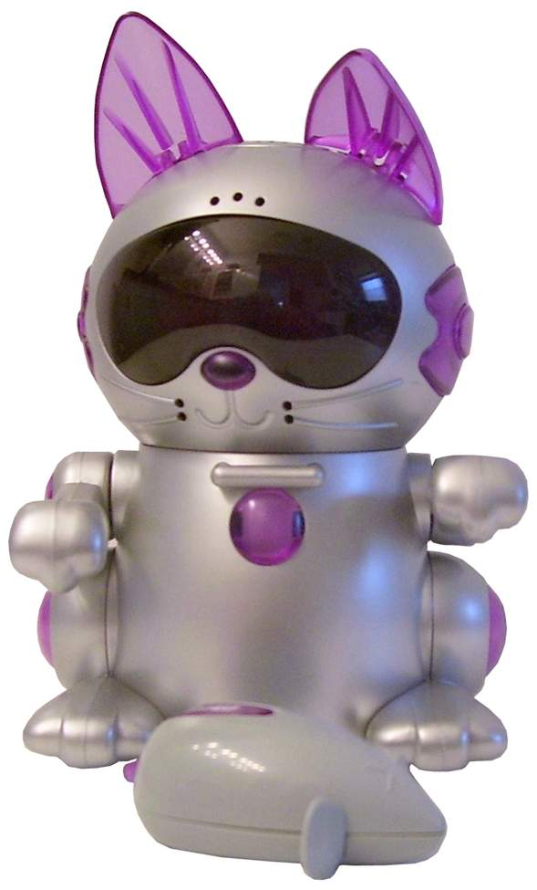 Meow Chi Robot Kitten Interactive Cat By Tiger Electronics The Old
