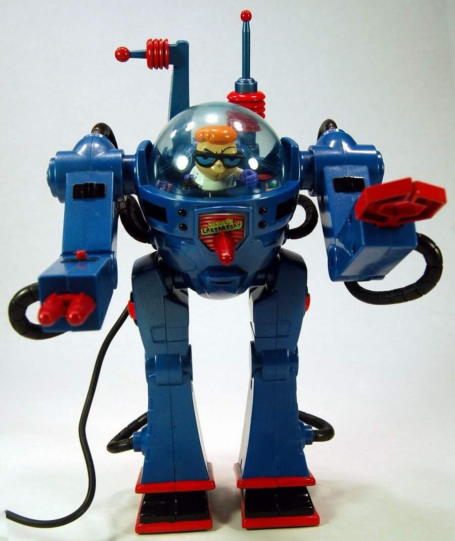 dexter u0027s laboratory walking robot by trendmasters the old robots