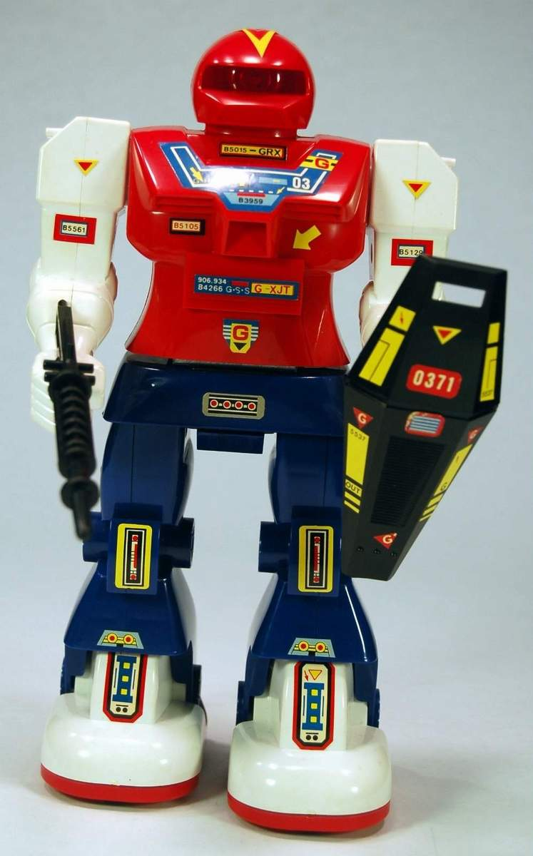 Galaxy Robot - Super Mechanical Fighter - The Old Robots ...