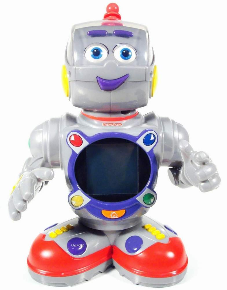 kasey the kinderbot by fisher price the old robots web site. Black Bedroom Furniture Sets. Home Design Ideas