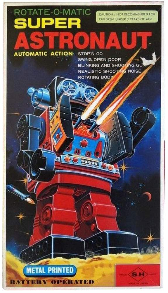 super astronaut robot by rotate-o-matic
