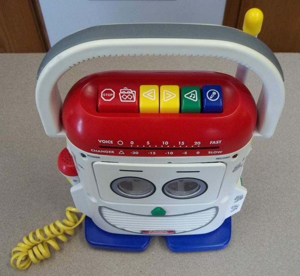 Mr  Mike by Playskool, Model PS-368/468 - The Old Robots Web