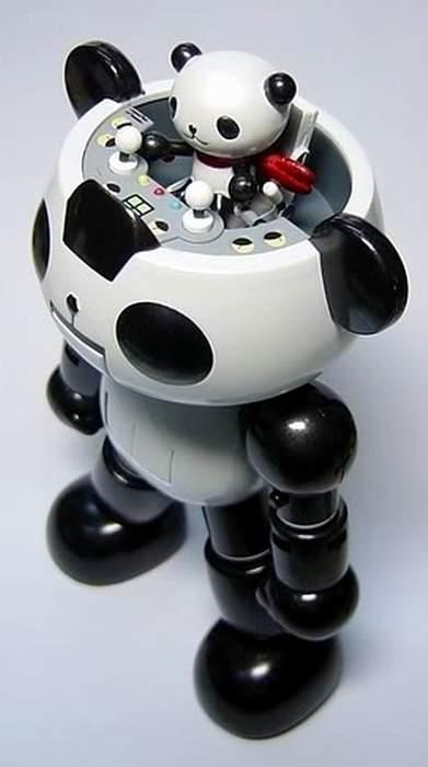 Panda Z Robot By Megahouse The Old Robots Web Site