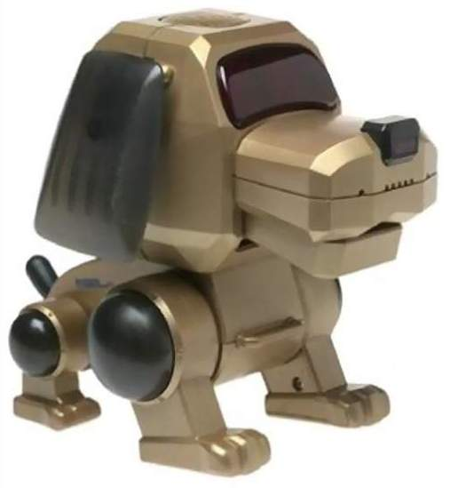 Pio Chi Robot Dog By Tiger Electronics Ltd The Old Robots Web Site