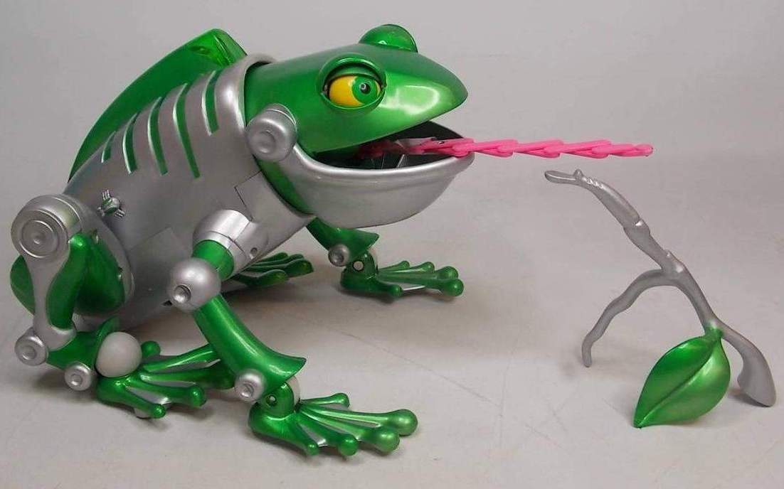 Boss Frog Robo Ribbit By C Pets The Old Robots Web Site