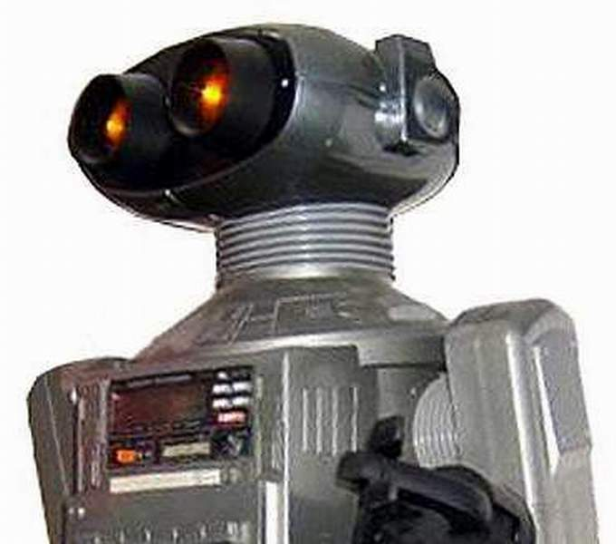 Omnibot Grey Mutant Robot