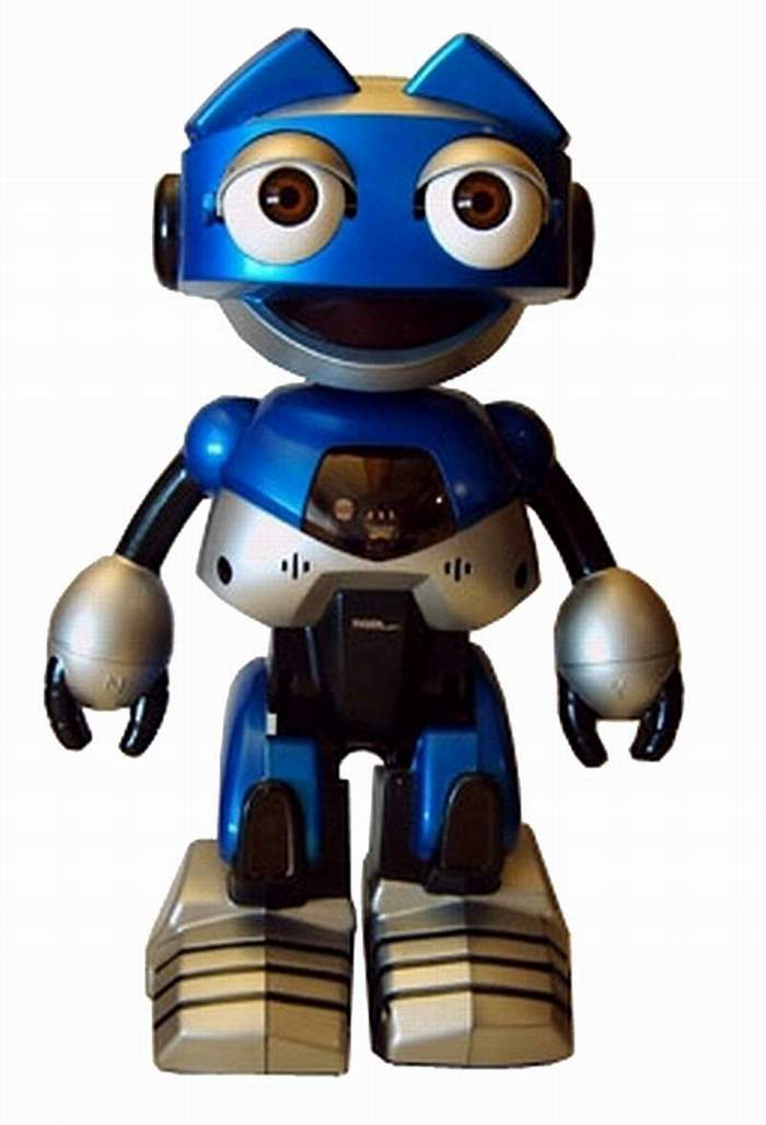 Ottobot Made by Tiger Electronics - The Old Robot's Web Site