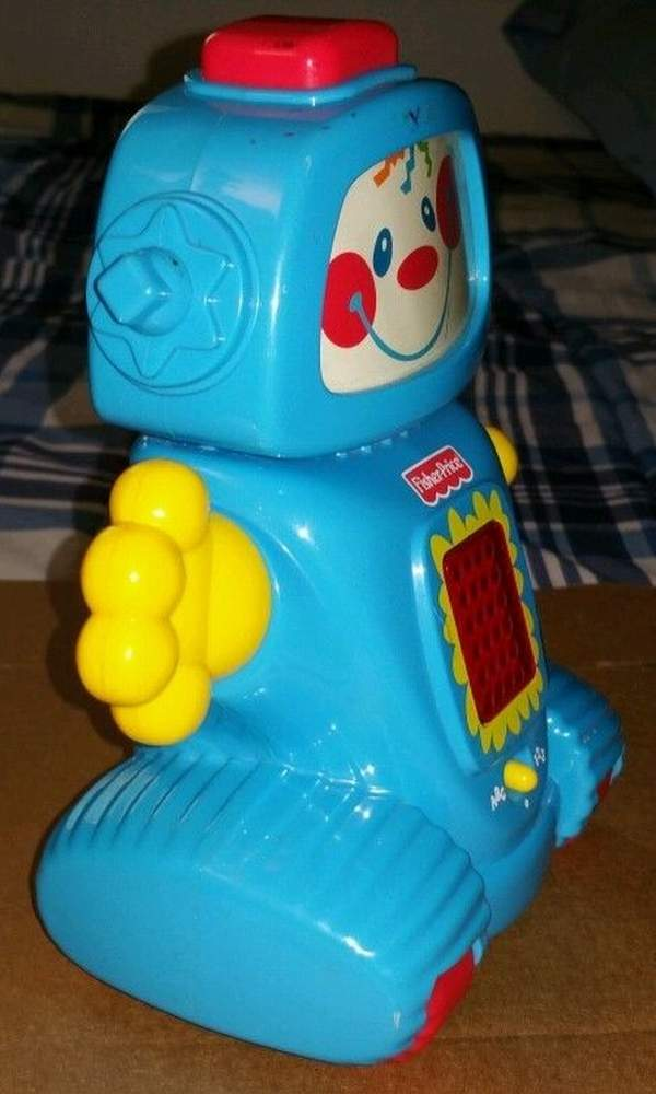 Learn-a-Bot Teaching Robot by Fisher-Price - The Old Robots Web Site