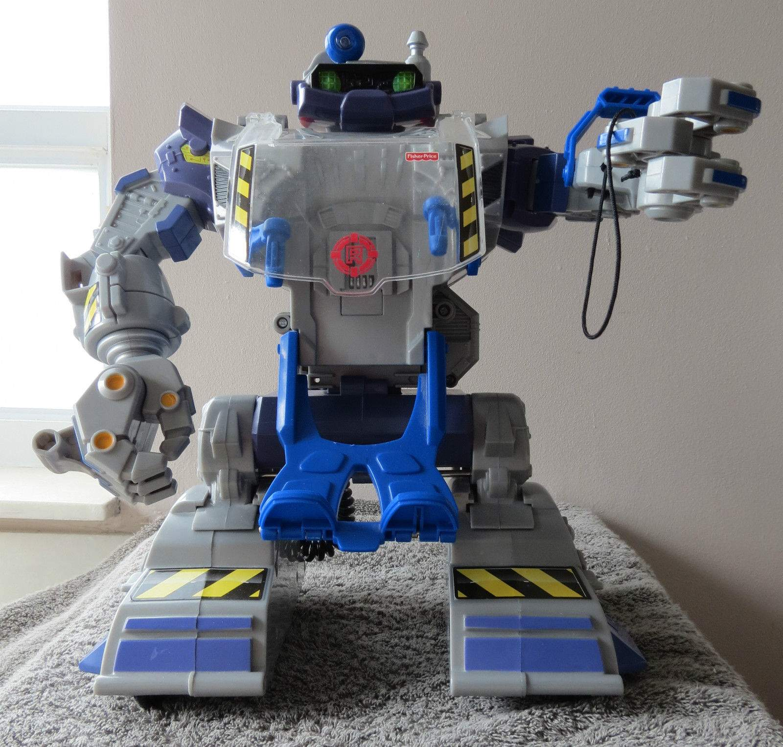 PowerMax Rescue Heroes Robot Ultimate Robotic Vehicle. - The Old Robots Web Site
