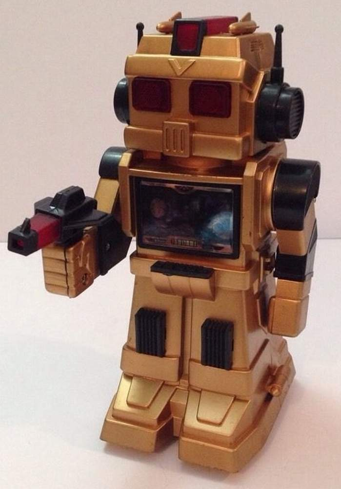 robot action go