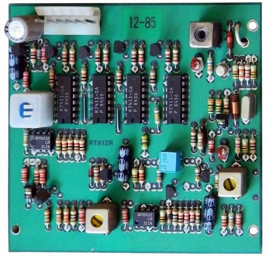 The Old Robots Web Site Heathkit Hero Jr Electronic Circuit Click To Enlarge 1 Robot