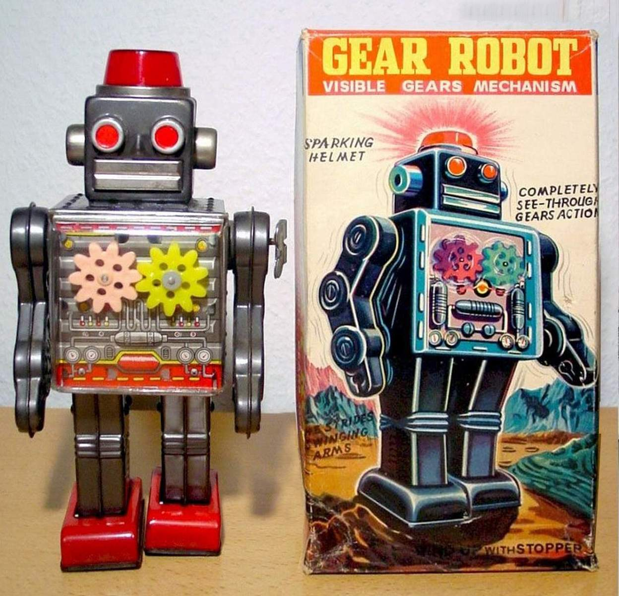 Gear Robot by S.H. Horikawa - The Old Robots Web Site
